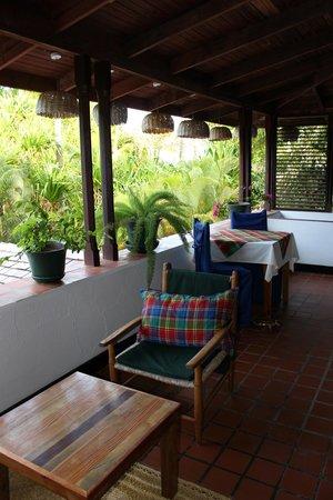 Anse Chastanet: balcony