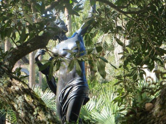 Brookgreen Gardens : many statues