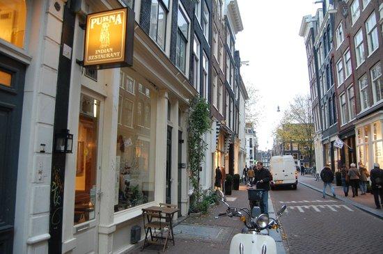 Purna Indian Restaurant: Street view-1