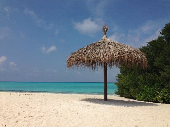 Kuramathi Island Resort: Den yderste snip af øen - Sand Banks