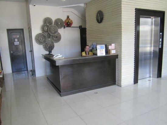 Hotel Stella: front desk