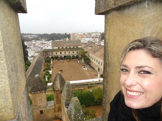 Caballerizas Reales de Cordoba: vistas desde Alcazar de los Reyes Cristianos