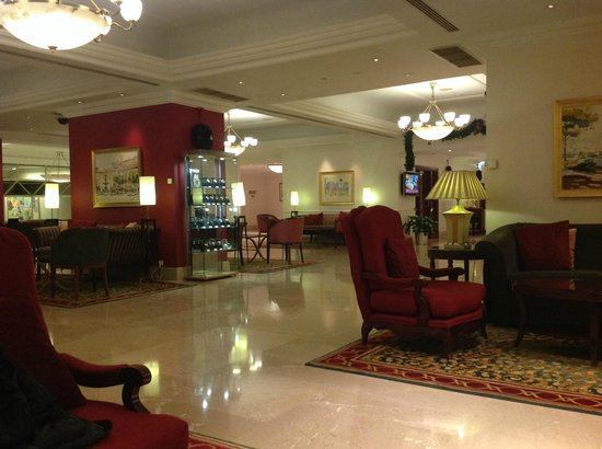 Lisbon Marriott Hotel : Lobby