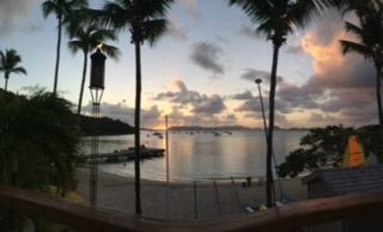 Caneel Bay Resort: Sunset at Caneel Beach