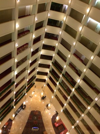 Atlanta Marriott Century Center/Emory Area : View from the elevator on your way up to your room... Nice!