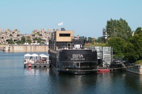 Bota Bota, spa-sur-l'eau : Spa Bota Bota