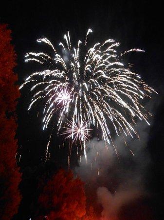 Karlsfelder See: Feuerwerk