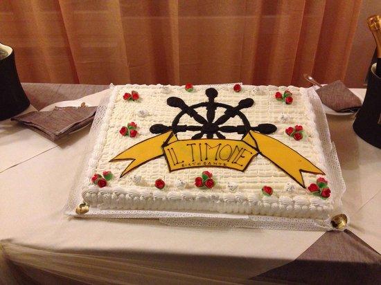 Ristorante Eurovil Il Timone: Una torta fantastica