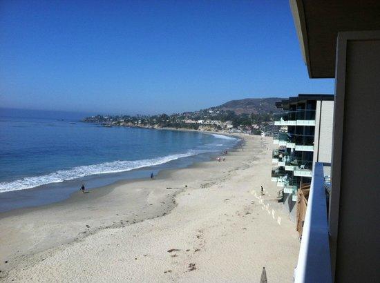 Pacific Edge on Laguna Beach, a Joie de Vivre Hotel: view north