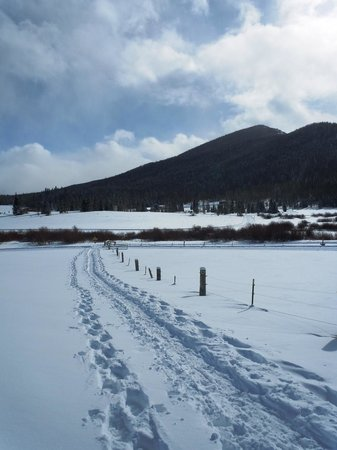 Snow Mountain Ranch: Break your own trail!