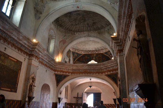 Mission San Xavier del Bac: Looking from the alter to the entrance
