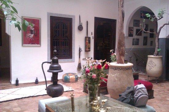 Riad Chafia : Patio