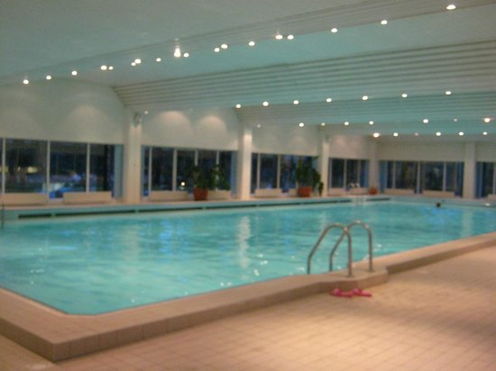 Semarah Hotel Lielupe: SPA-zone. swimming pool in the morning was included