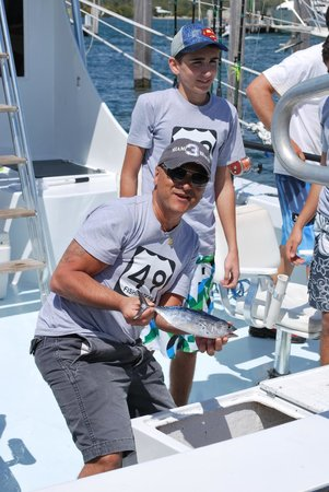 Therapy IV Deep Sea Fishing Experience: and also smaller catches...