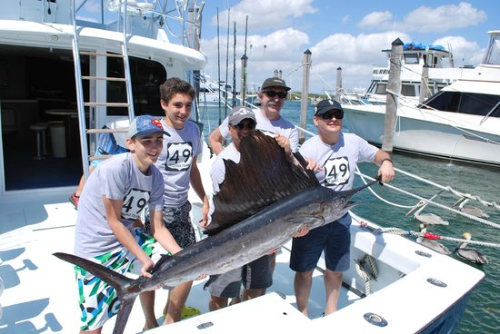 Therapy IV Deep Sea Fishing Experience: Aren't we proud...