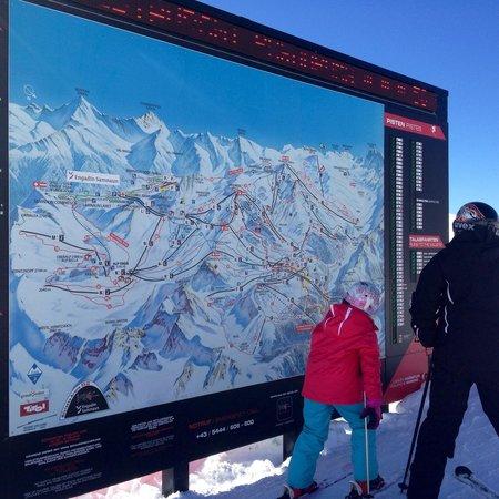 Ischgl-Samnaun ski area: Orientarsi e' facile