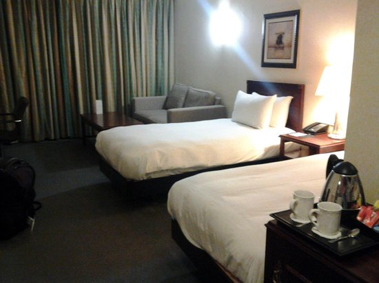 Hilton East Midlands Airport: Twin room