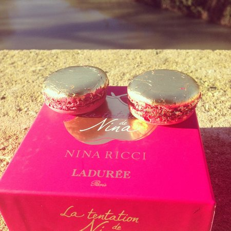 Laduree: Special Nina Ricci selection in gold
