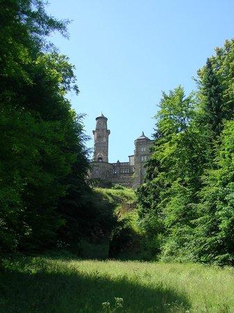 Bergpark: Löwenburg