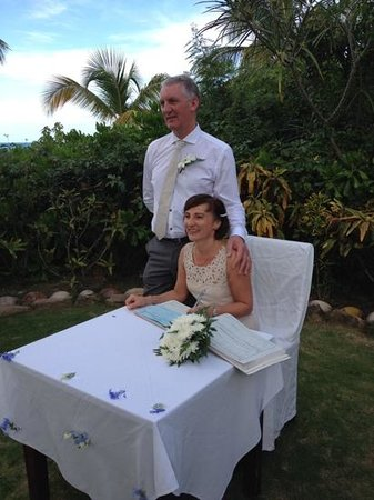 The Chester Hotel: Our wedding in Antigua