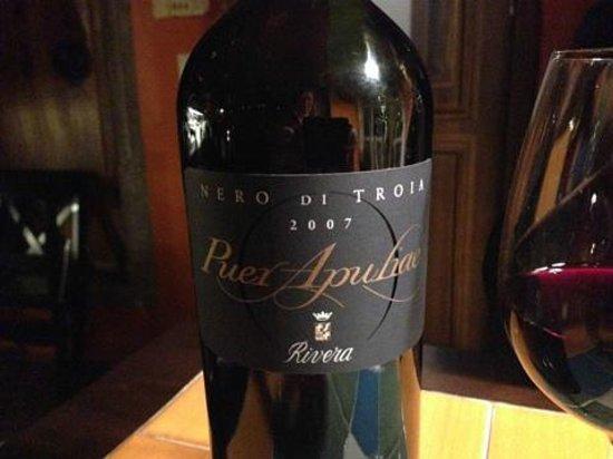 Il Gallo Nero: Great wine!