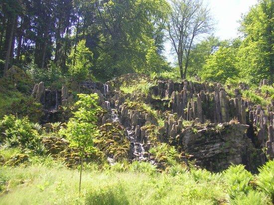Bergpark: Steinhöfer Wasserfall