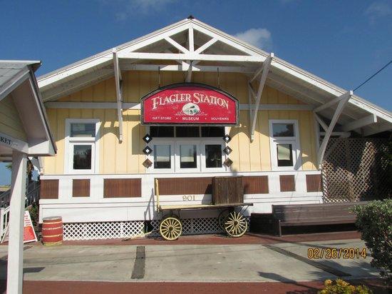 Flagler Station Oversea Railway Historeum: Main building