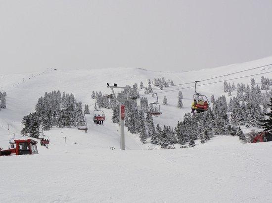 Ski Center Helmos: Las sillas