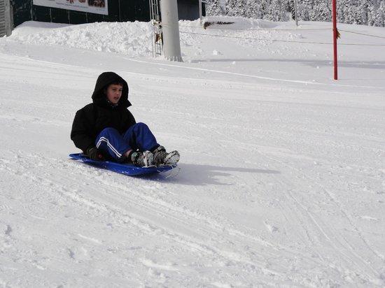 Ski Center Helmos: Trineo