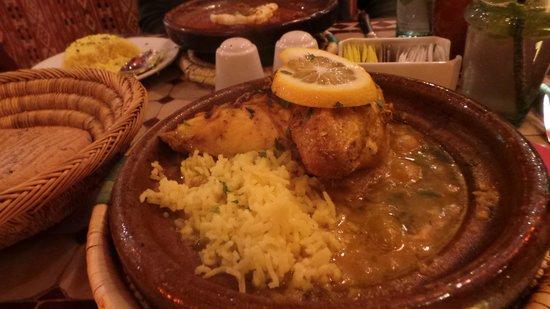 Kasbah Cafe Bazaar: Chicken tagine
