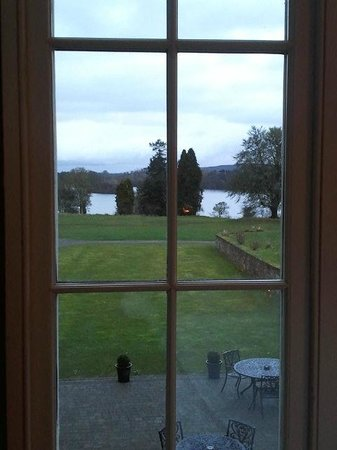 Kilronan Castle Hotel & Spa: view from the restaurant's dining room