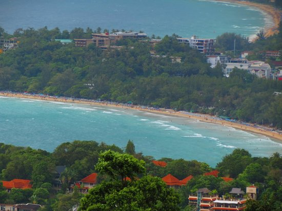 Phromthep Cape : Lovely views from up top