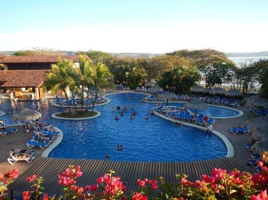Allegro Papagayo: view from room