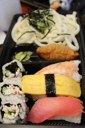 Ninja Sushi: Udon bento set
