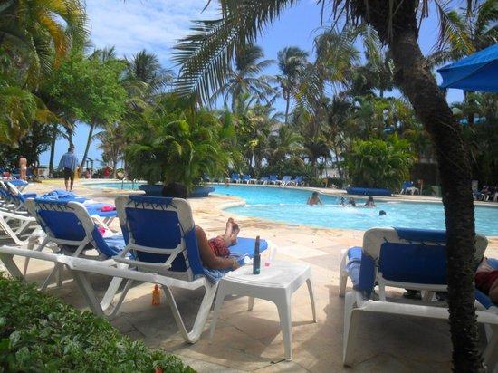 Decameron San Luis: una de las tres piletas del hotel