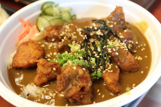 Ninja Sushi: curry chicken on rice