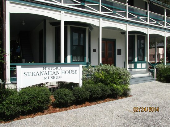 Stranahan House: front of house