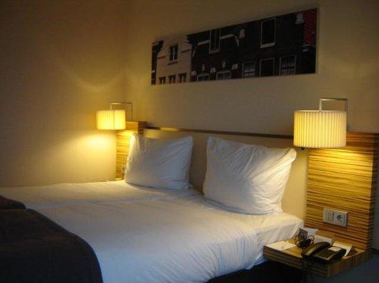 Movenpick Hotel Amsterdam City Center: de mooie kamers
