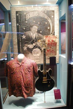 B.B. King Museum and Delta Interpretive Center: cimeli