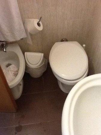 Hotel Continentale : toilettes