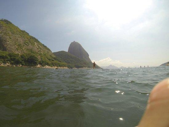 Claudio Coutinho Trail: Vista desde a praia vermelha
