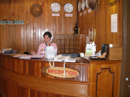 Pine Hill Resort, Kalaw: Reception