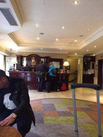 Brooks Hotel: Lobby