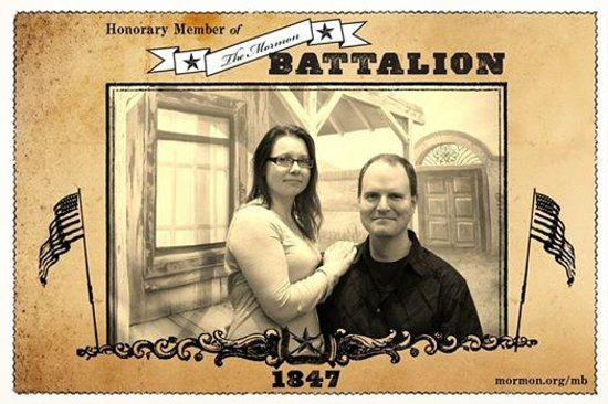 Mormon Battalion Historic Site: Free photo of us :)