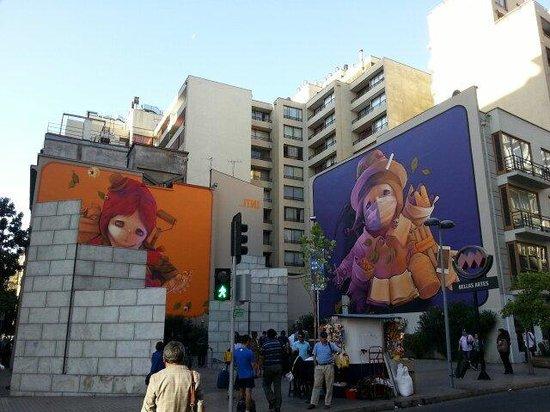 Barrio Lastarria: Bellas Artes