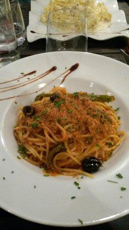 0039 Ristorante Italiano : Spachetti alla Siciliana