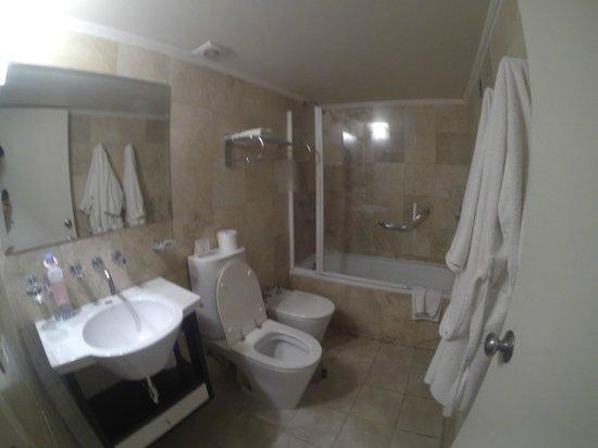 Huentala Hotel : Baño