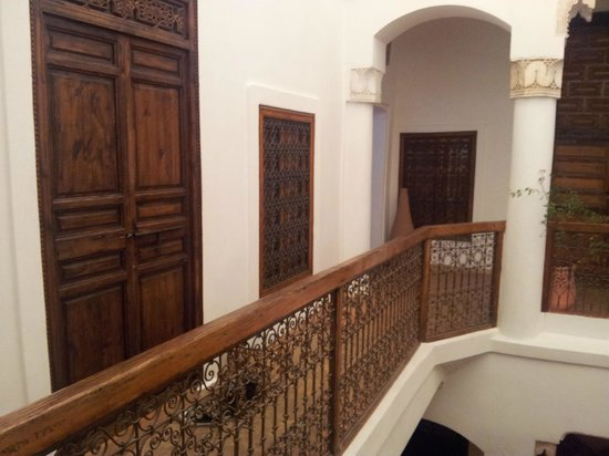 Riad Villa El Arsa: Un particolare del riad