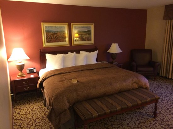 Marcus Whitman Hotel & Conference Center: King bed