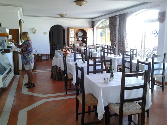 Hotel Santa Eulalia: Breakfast room